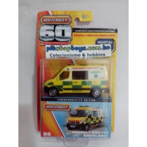 Matchbox - Renault Master Ambulance - 60th Anniversary
