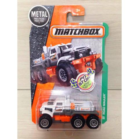 Matchbox - Road Mauler Branco - Básico 2017