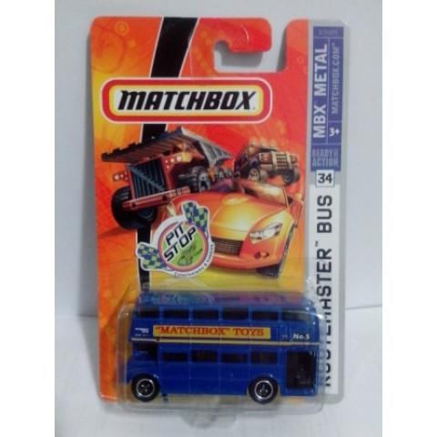 Matchbox - Routemaster Bus Azul - Básico 2007