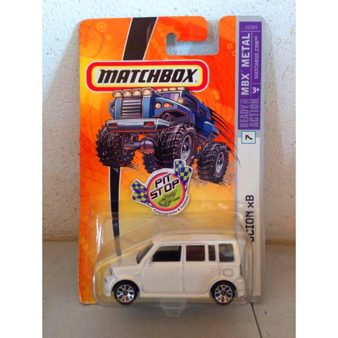 Matchbox - Scion XB Branco - Ready For Action