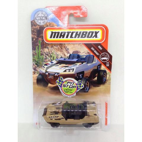 Matchbox - Swamp Commander Marrom - MBX Off-Road - Básico 2018