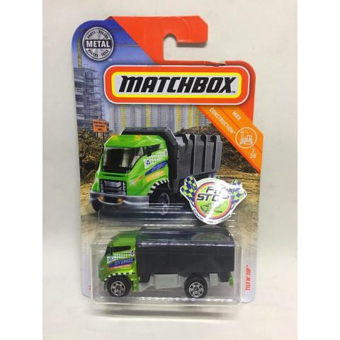 Matchbox - Tilt N' Tip Verde - MBX Construction - Básico 2019