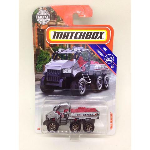 Matchbox - Trail Tracker Cinza - MBX Service - Básico 2018