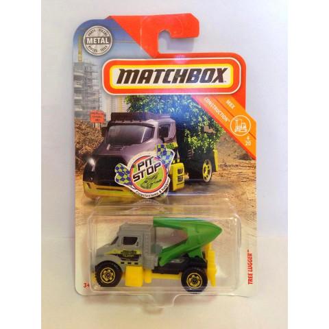 Matchbox - Tree Lugger Cinza - MBX Construction - Básico 2018