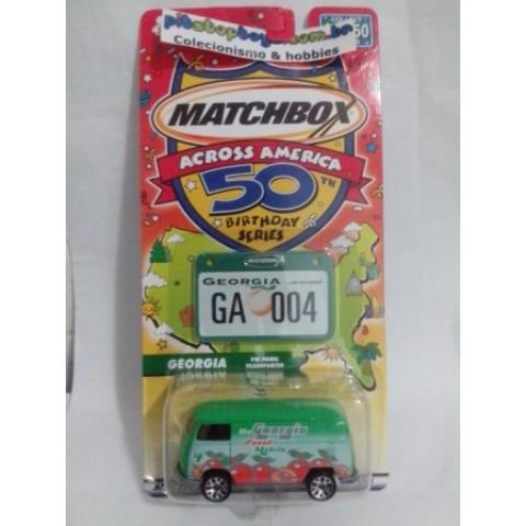 Matchbox - VW Panel Transporter - 50th Birthday Series
