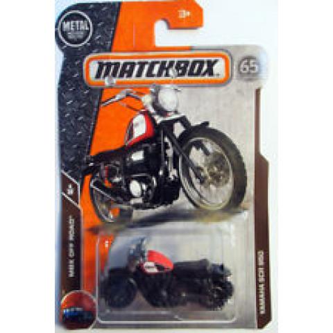 Matchbox - Yamaha SCR 950 Vermelho - Matchbox 2018