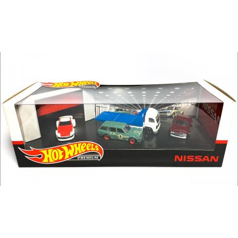 Hot Wheels - Set Nissan - Premium Completo 4 Miniaturas 2020