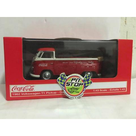 Motor City - 1962 Volkswagen T1 Pickup - Coca-Cola - Escala 1:43