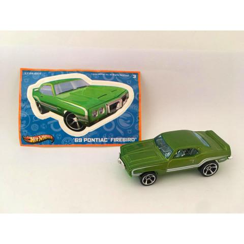 Hot Wheels - 69 Pontiac Firebird  - Mystery Models - Walmart Exclusivo 2012