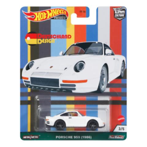 Hot Wheels - Porche 959 (1986) - Deutschland Design - Car Culture