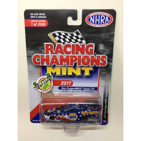 Racing Champions - 2017 Ron Capps NHRA Funny Car Azul - Racing Champions Mint