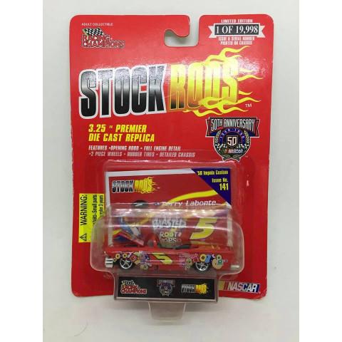 Racing Champions - 58 Impala Custom Vermelho - Stock Rods