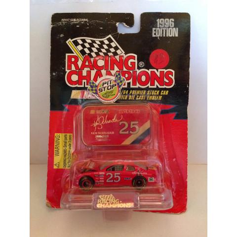 Racing Champions - Monte Carlo Vermelho - Ken Schrader - Nascar