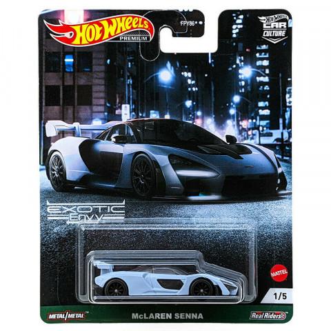 Hot Wheels - McLaren Senna - Exotic Envy - Car Culture