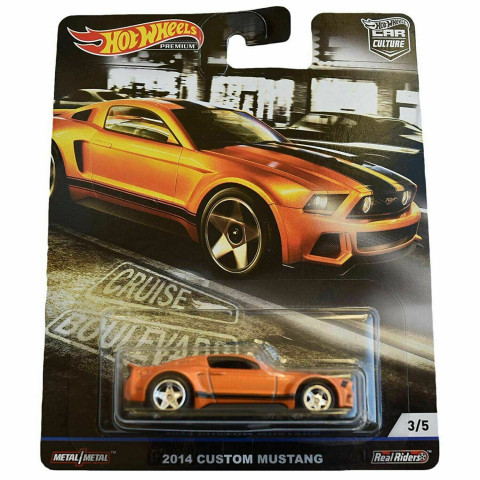 Hot Wheels - 2014 Custom Mustang - Cruise Boulevard - Car Culture