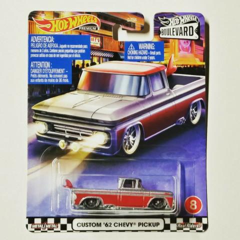Hot Wheels - Custom 62 Chevy Pickup - Boulevard 2020
