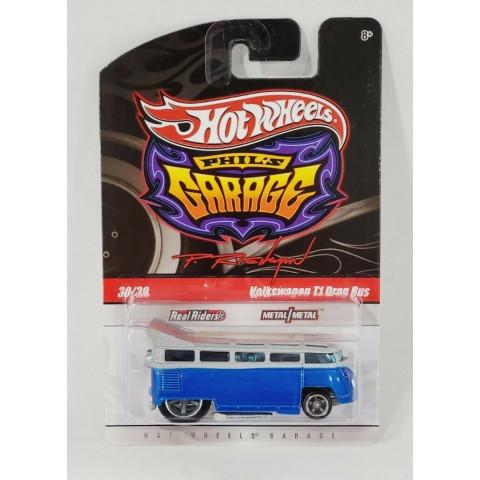 Hot Wheels - Volkswagen Drag Bus - Garage - Exclusiva Set Garage