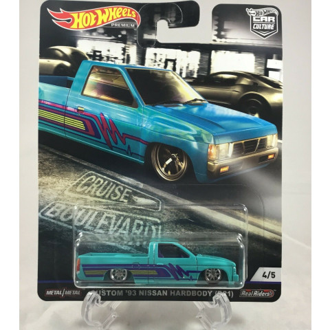 Hot Wheels - Custom 93 Nissan Hardbody (D21) - Cruise Boulevard - Car Culture