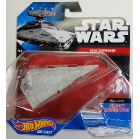 Hot Wheels - Star Destroyer Branco - Star Wars