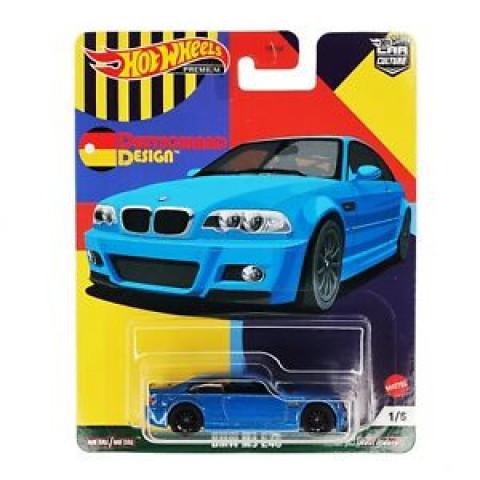 Hot Wheels - BMW M3 E46 Azul - Deutschland Design - Car Culture