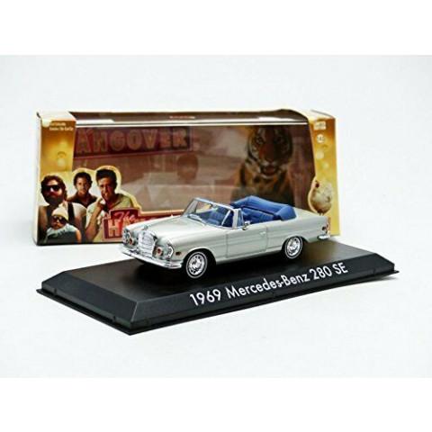 Greenlight - 1969 Mercedes-Benz 280 SE Convetible - Se Beber Não Case - The Hangover - Hollywood - Escala 1:43