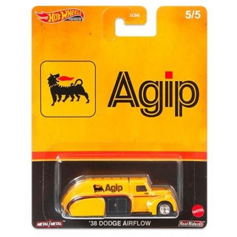 Hot Wheels - 38 Dodge Airflow Amarelo - Agip - Fuel