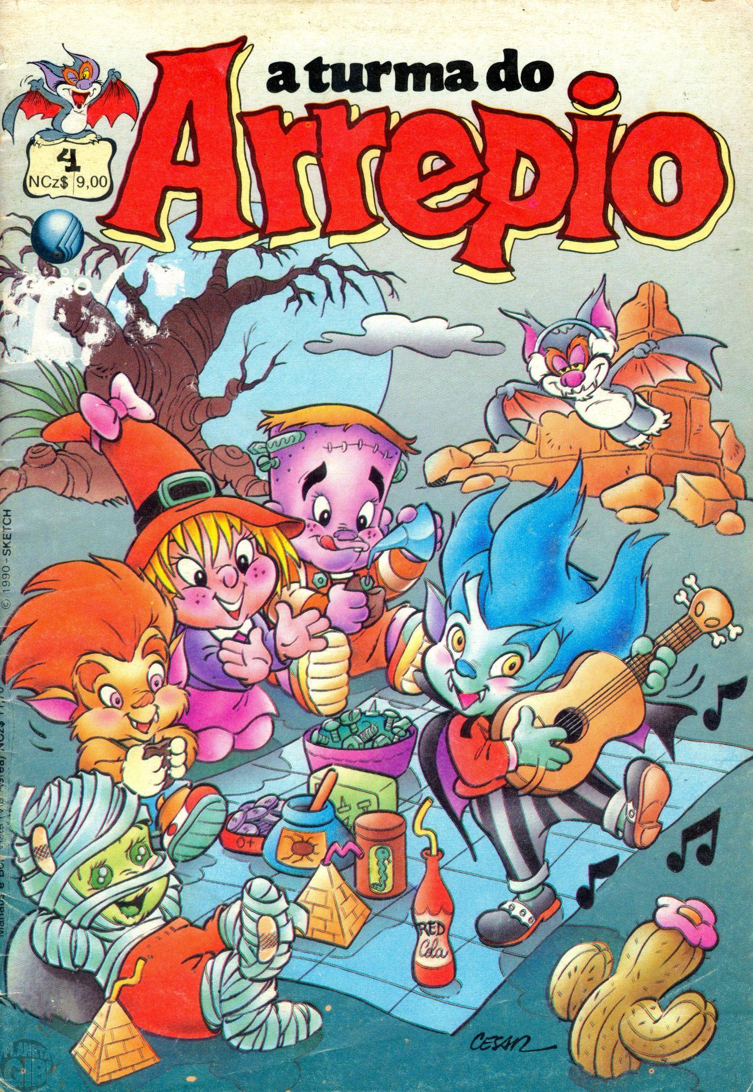 A Turma do Arrepio [Globo] nº 004 jan/1990