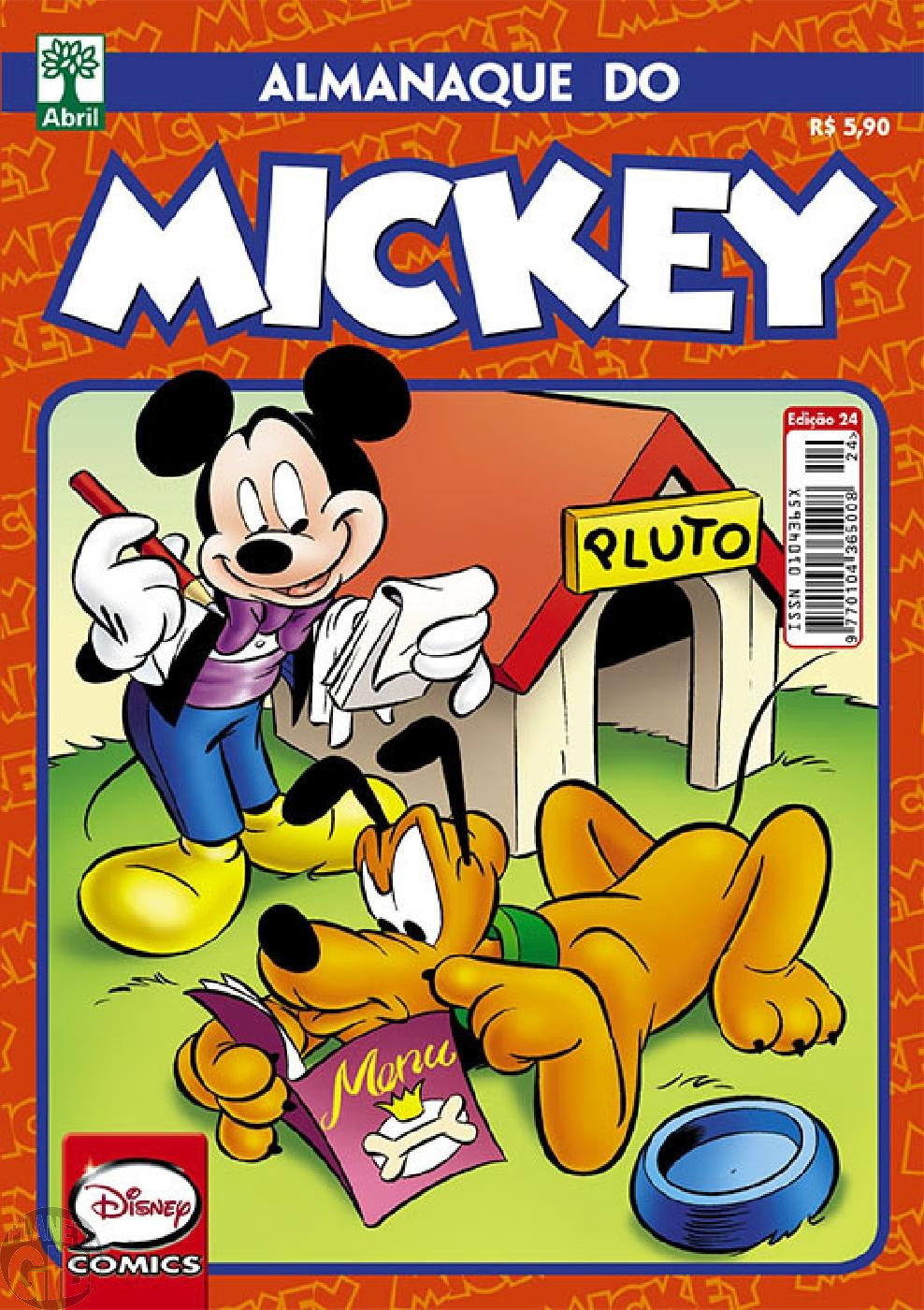 Almanaque do Mickey [2ª série] nº 024 fev/2015 - O Aviador Maluco