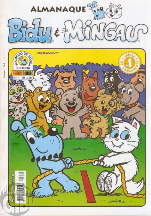 Almanaque Bidu e Mingau nº 001 jul/2008