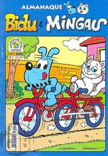 Almanaque Bidu e Mingau nº 002 jan/2009