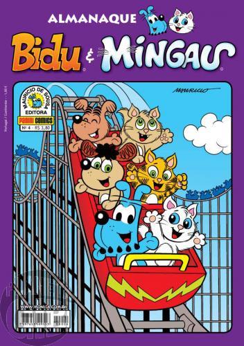 Almanaque Bidu e Mingau nº 004 jan/2010