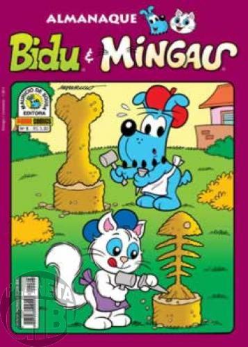 Almanaque Bidu e Mingau nº 008 jan/2012