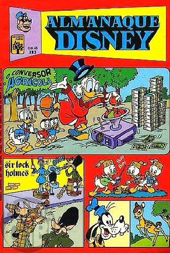 Almanaque Disney nº 113 out/1980