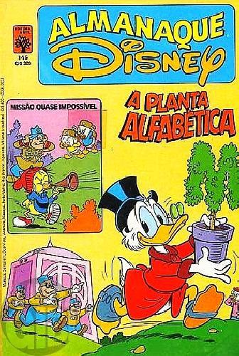 Almanaque Disney nº 145 jun/1983