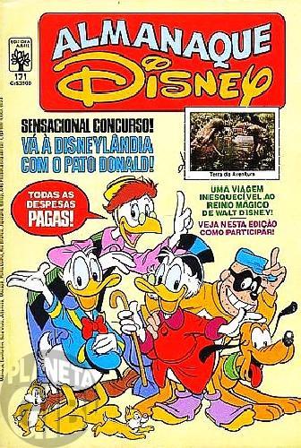 Almanaque Disney nº 171 ago/1985