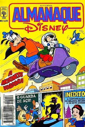Almanaque Disney nº 280 nov/1994 - O Guarda de Aço - Marco Rota