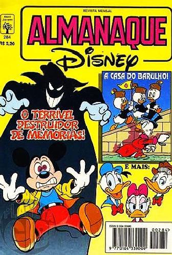 Almanaque Disney nº 284 mar/1995 - A Casa do Barulho