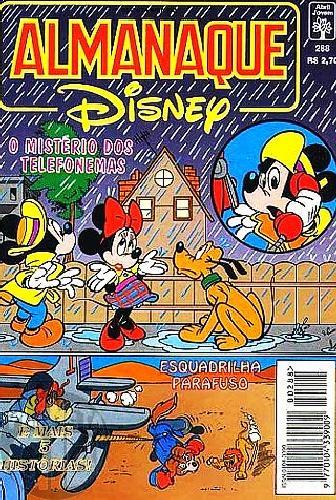Almanaque Disney nº 288 jul/1995 - Mickey e o Mistério dos Telefonemas