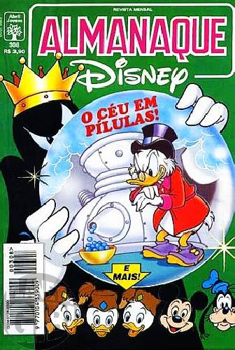 Almanaque Disney nº 308 mar/1997 - Esquálidus: Tevê Fora do...Tempo