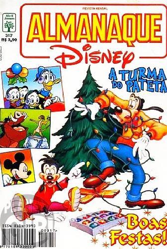 Almanaque Disney nº 317 dez/1997 - As Doze Badaladas da Meia-Noite