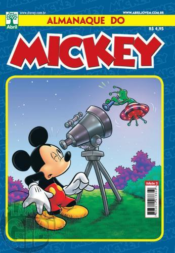 Almanaque do Mickey [2ª série] nº 002 jun/2011 - O Crime do Cel. Cintra