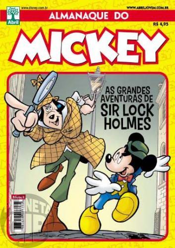 Almanaque do Mickey [2ª série] nº 008 jun/2012 - Sir Lock Holmes