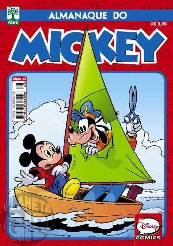 Almanaque do Mickey [2ª série] nº 028 out/2015 - O Grande Motim: gênese de Pateta Faz História