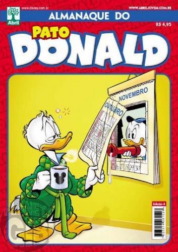 Almanaque do Pato Donald [2s] nº 004 out/2011 - Os Caçadores do Espaço