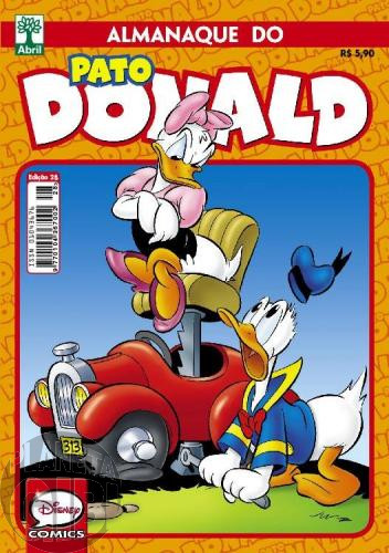 Almanaque do Pato Donald [2s] nº 028 out/2015 - O Ponto da Discórdia