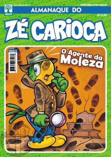 Almanaque do Zé Carioca [2ª série] nº 004 out/2011 - Especial Agência de Detetives Moleza