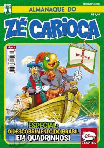 Almanaque do Zé Carioca [2ª série] nº 017 dez/2013 - Especial O Descobrimento do Brasil