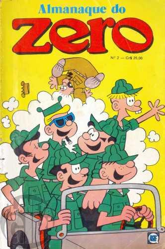 Almanaque do Zero [RGE - 2ª série]  nº 002 mar/1980