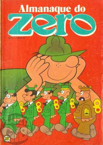 Almanaque do Zero [RGE - 2ª série]  nº 005 out/1980