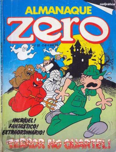 Almanaque do Zero [RGE - 2ª série]  nº 032 set/1985